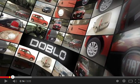 fiat doblo video screen