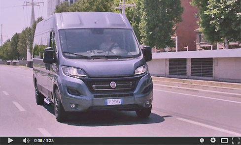 fiat ducato video screen