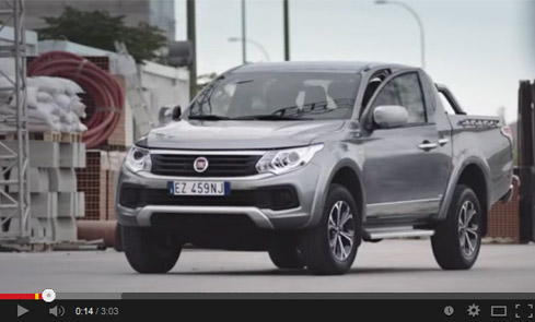 fiat fullback video screen